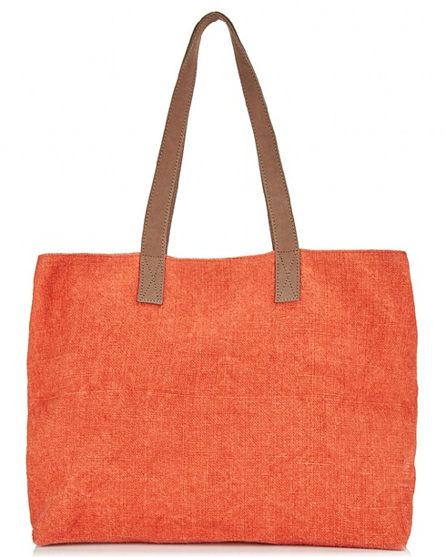 organic jute tote from East