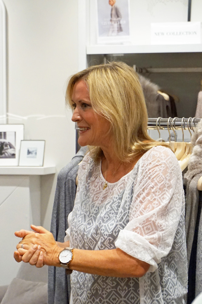 The White Company Clothing Director Barbara Horspool