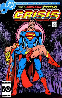 crisis on infinite earths cover george perez