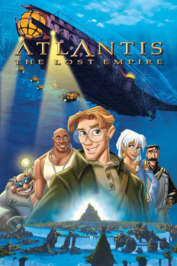 Atlantis The Lost Empire 2001 Dual Audio