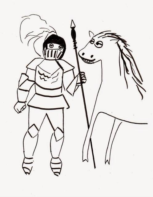 Эвелина Васильева. Рыцарь и конь
