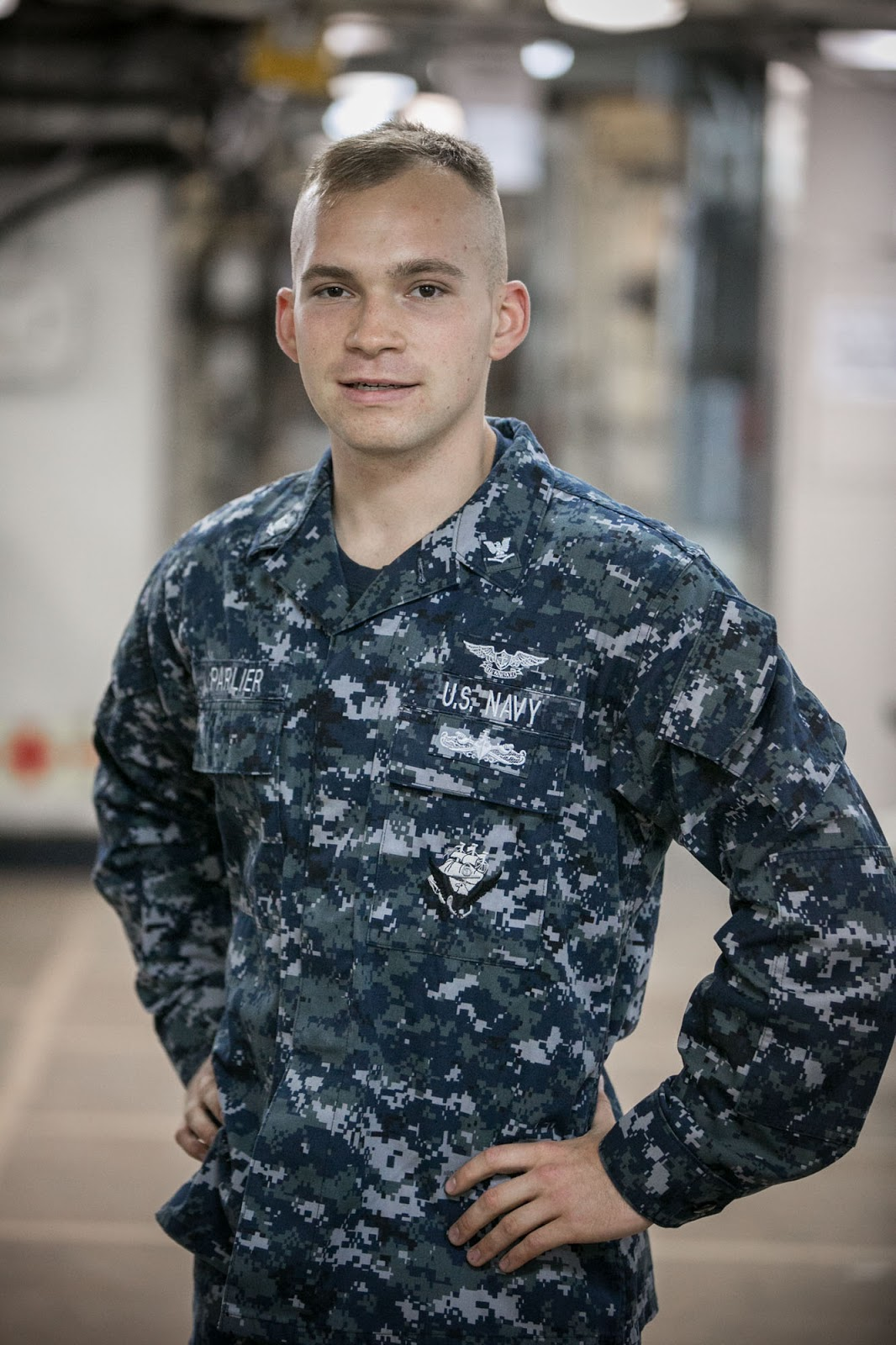 newfane n y native serving in aboard navy s only forward petty officer 3rd class zachary parlier is an aviation maintenance administrationman aboard the wasp class amphibious assault ship operating out of sasebo