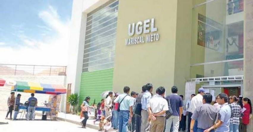 SITRADE: Trabajadores Administrativos de Educación piden evaluación a director de UGEL Mariscal Nieto - Moquegua