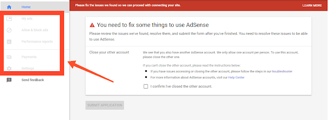 Disapprove adsense account ko cancel kaise kare hindi me
