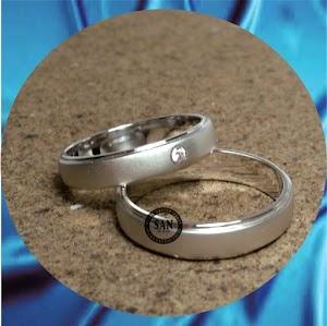 cincin kawin perak p631