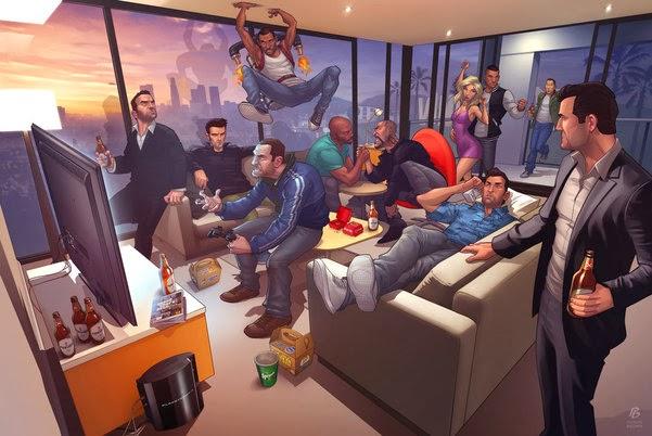 俠盜獵車手5(GTA5) Online版心得附賺錢方法免費跑車密技 - 遊戲魔人