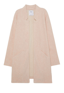 manteau rose pull and bear