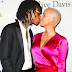 Amber Rose And Ex-Husband Wiz Khalifa Share Steamy Kiss At Pre-Grammy Event