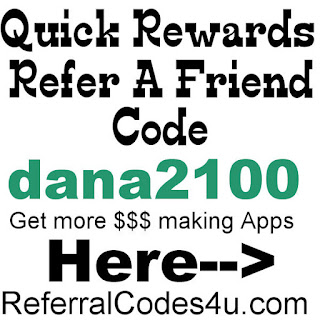 QuickRewards Network Referrer Code 2017, Quick Rewards Reviews, Quick Rewards Sign Up Bonus 2017