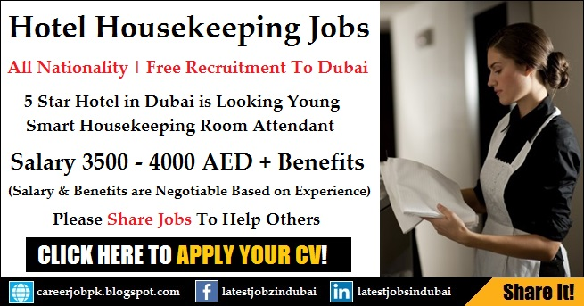 Housekeeping Jobs in Dubai March 2018 - Hotel Cleaning Jobs