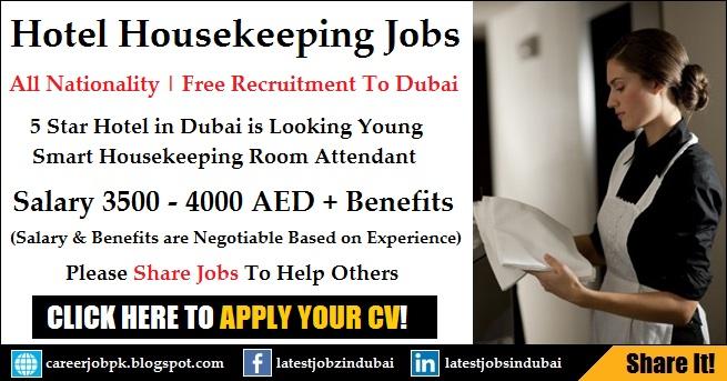 Housekeeping Jobs in Dubai 2017 - Hotel Cleaning Jobs