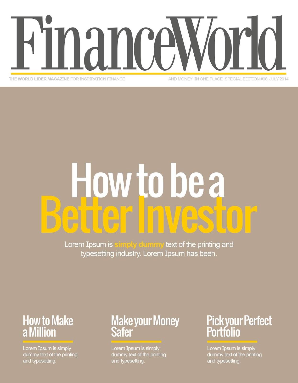 Finans Dergisi Kapağı