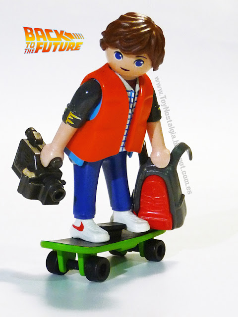 Playmobil Retour vers le futur Marty Mc Fly