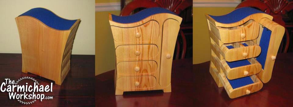 Wooden jewelry box plans pdf Aji