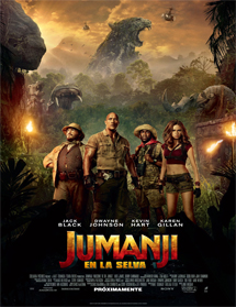 Jumanji: En la selva (2017) español