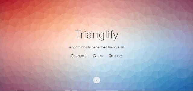 Trianglify - Tools Desain untuk UX/UI Designers (Part I)