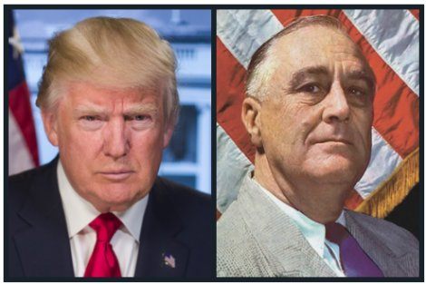 Trump and FDR