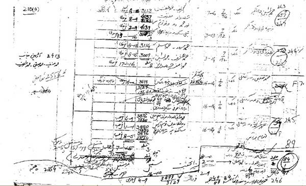 Traditional Land Record of Patwari System
