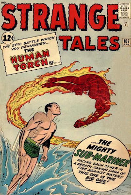 Strange Tales #107, The Human Torch vs the Sub-Mariner