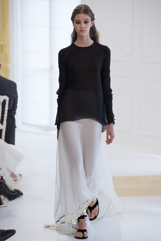 Chanel sweater and skirt WTW