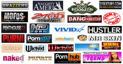Porn websites accounts