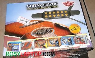 Guitar Pickup ( Alat Menghubungkan Gitar Akustik ke Mic )