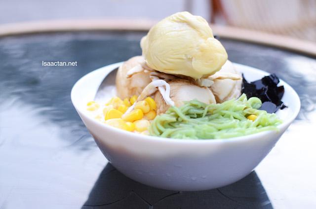 SANGKAYA Durian Chendol, Seasonal Dessert @ SANGKAYA Jalan Alor