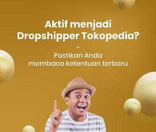 internal dropship Tokopedia dilarang.