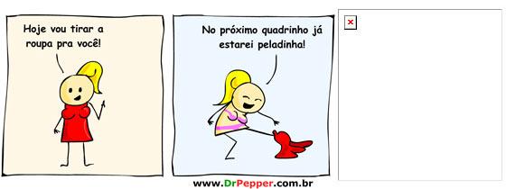 Tirinha Dr Pepper