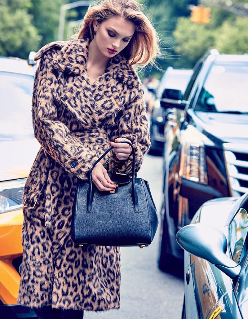 6b478630db1 Romee Strijd poses for Vogue Japan in Michael Kors designs