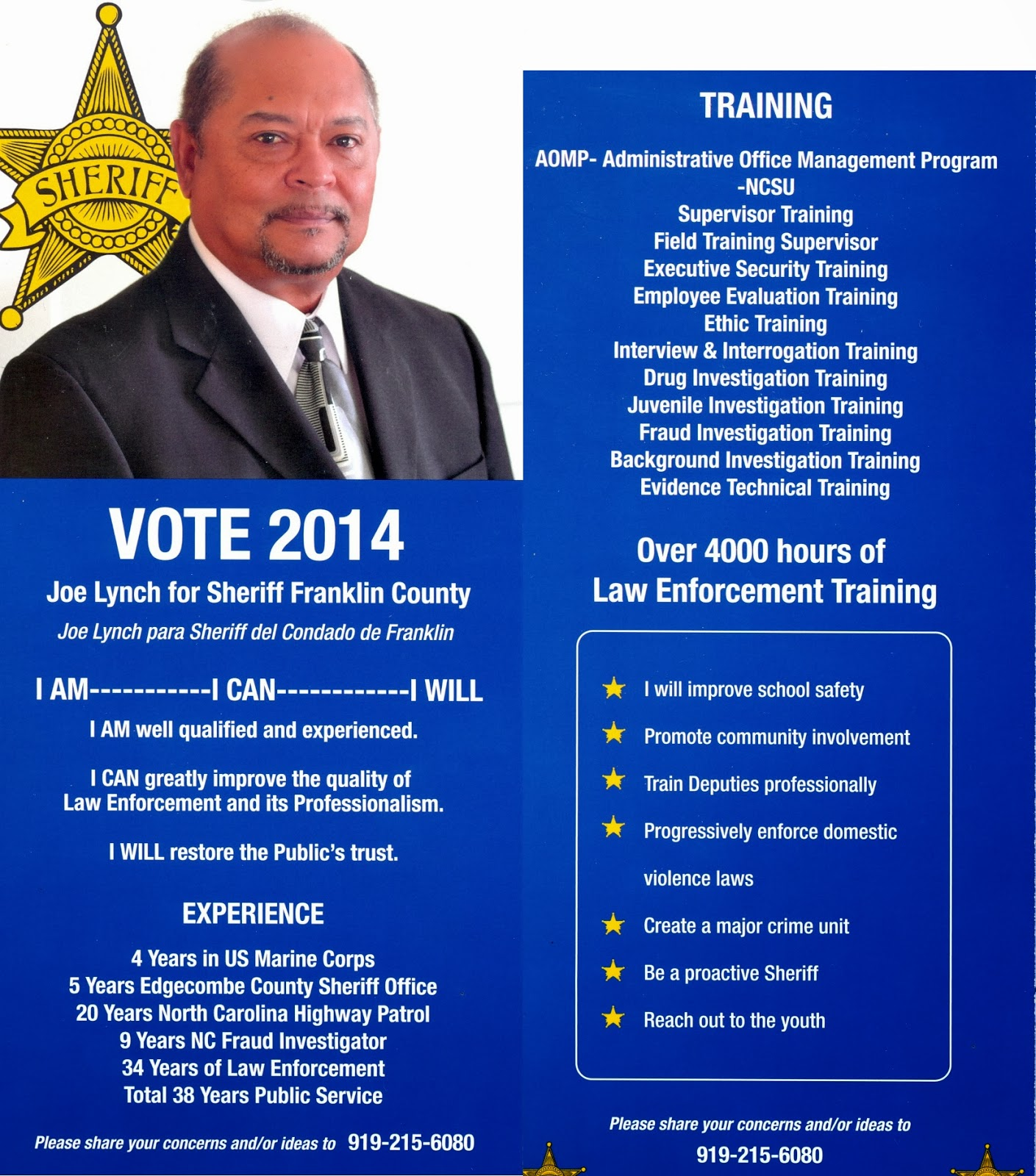Best Examples Of Political Campaign Flyers