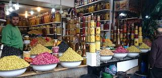 Los zocos de Marrakech.