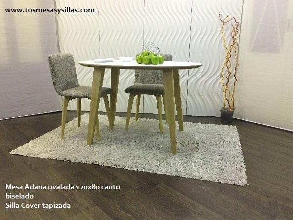 Elegir mesa redonda ovalada o rectangular de cocina o - Mesas ovaladas extensibles ...