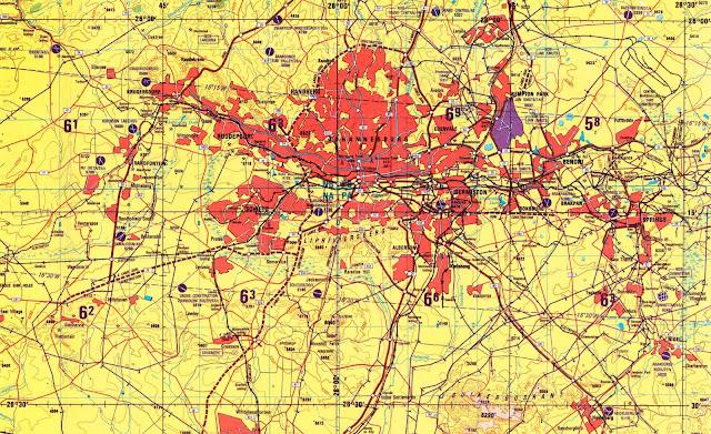 Johanesburg map