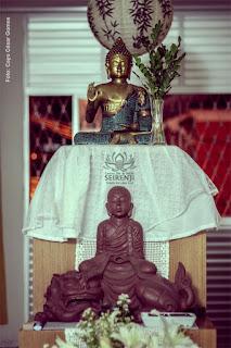Altar no Seirenji - Centro Zen do Recife