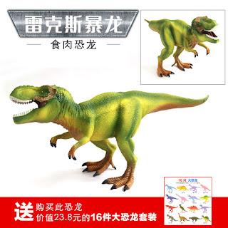 Jurassic World Dinosaur Figure Tyrannosaurus T-Rex Toys 28cm with Moveable Jaw