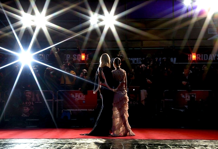 Cate Blanchett y Rooney Mara en el London Film Festival