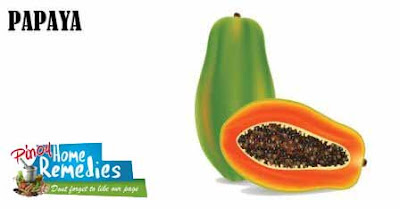 Home Remedies For Pimples: Papaya