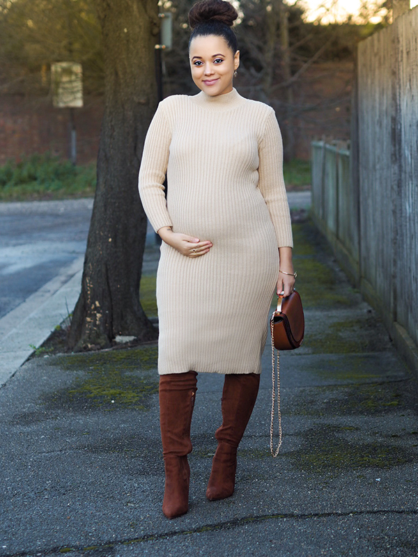 femme luxe, ribbed long dress