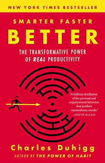 Smarter Faster Better: The Transformative Power of Real Productivity by Charles Duhigg