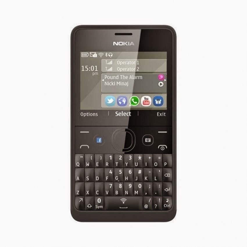 Spesifikasi Nokia Asha 210 Dual Sim