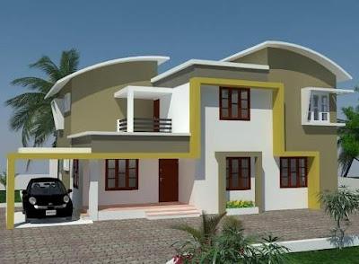 Model Desain Atap Rumah Minimalis 1 & 2 Lantai Modern