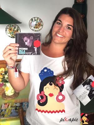 Camiseta flamenca Aina Pikapic