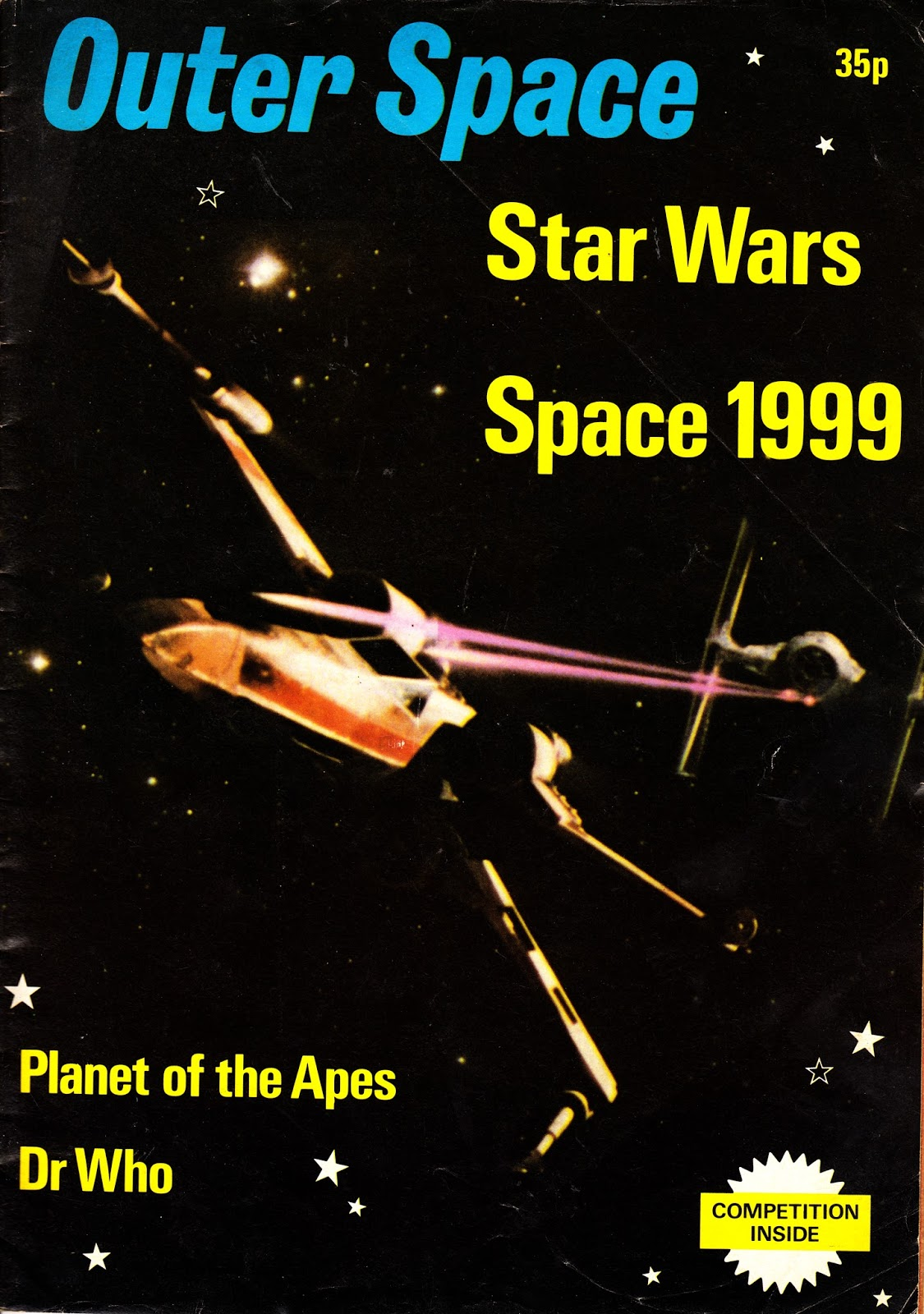 Starlogged geek media again 1978 outer space magazine for Outer space 2016