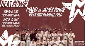 Maud Cardinals baseball players prepare for win in tonight's second match-up against James Bowie in playoffs