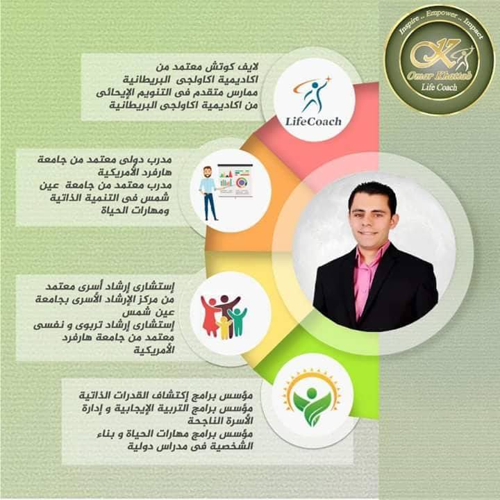 لايف كوتش / عمر خطاب إستشارى ارشاد تربوي واسري