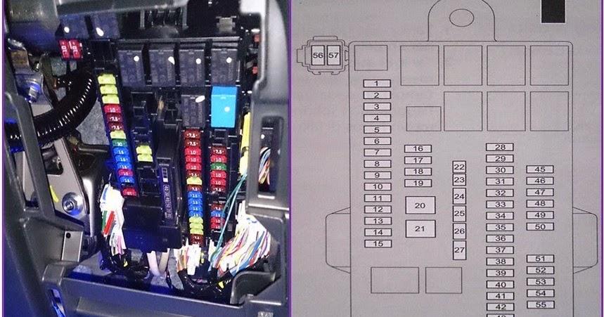 Share info fuse  sekering Honda Mobilio {VaNiX3N