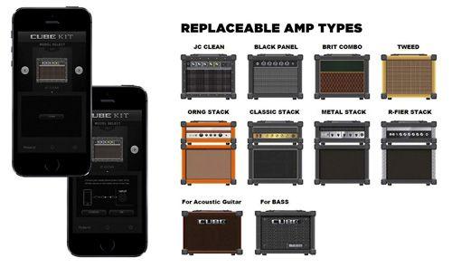 Aplicación Cube Kit para Roland Cube-10GX