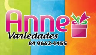 Anne Variedades - O lugar certo de escolher o presente ideal