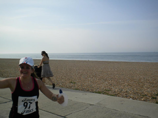 Seaford South Coast Run half marathon tess langley